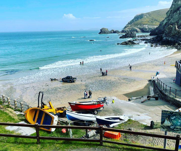 St Agnes Bay Cornwall